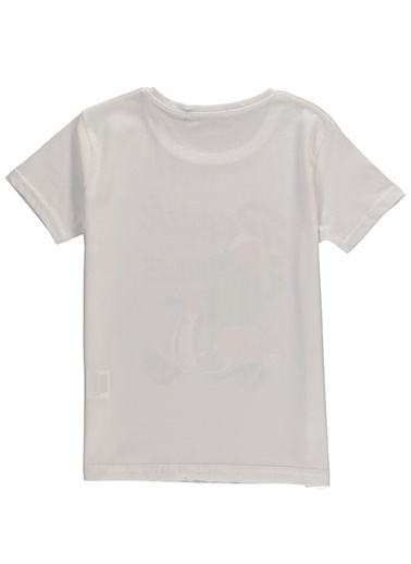 Asymmetry Tişört Beyaz